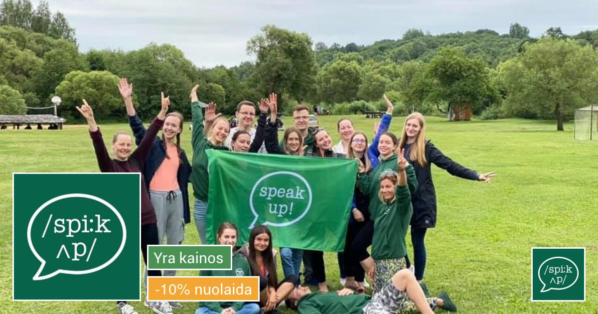 Anglų kalbos kursai Vilniuje ir Kaune!