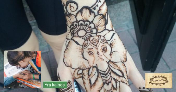 Chna (Henna) piešiniai jūsų magiškiems ritualams