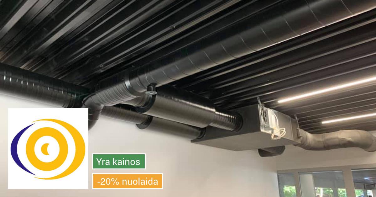 ŠVOK sistemu Projektavimas - Pardavimas - Montavimas