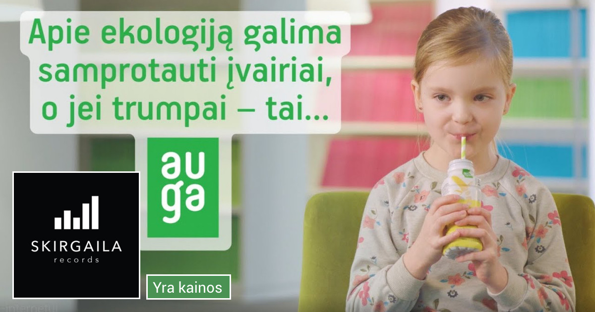 Garso reklamos gamyba