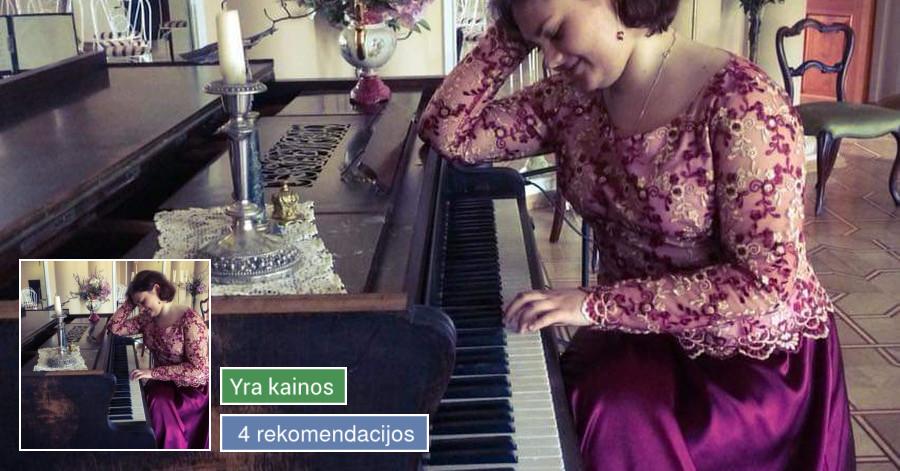 Profesionalios klasikinio arba džiazinio fortepijono pamokos