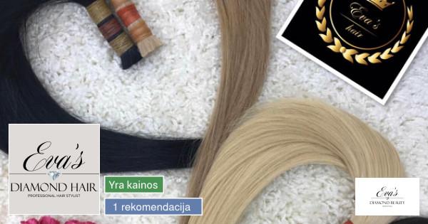 Profesionalus plaukų priauginimas.