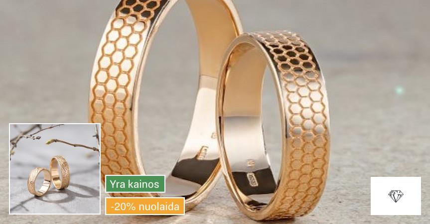 Vestuvinių žiedų gamyba ir prekyba.