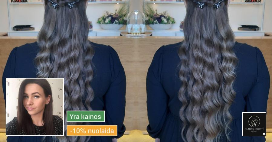 Plaukų stilistė - kirpėja Evelina