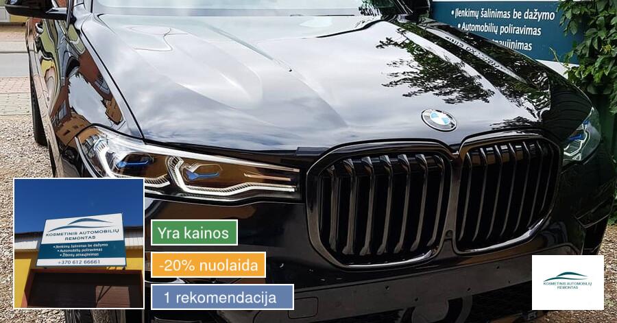 Kosmetinis Automobilių Remontas
