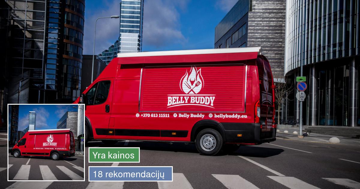 Food truck nustebins skaniais patiekalais