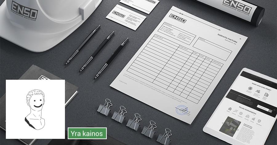 Logo + Brandbook kūrimas: Tapk Įsimintinu!