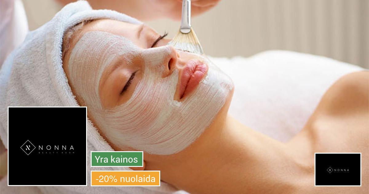 Nonna Beauty Room kosmetologinės procedūros