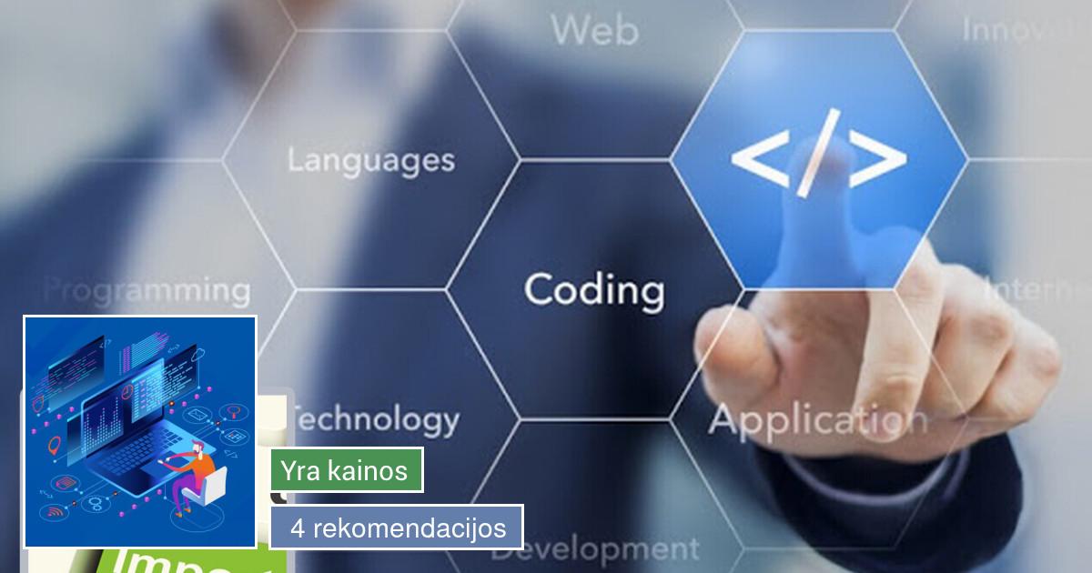 Programavimo paslaugos Wordpress, Php, Html, Css, Js, Mysql.