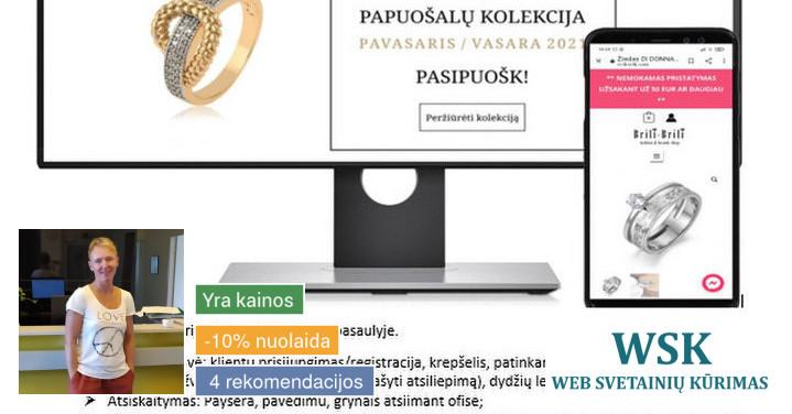 Kuriame ir palaikome Web svetaines bei el.parduotuves