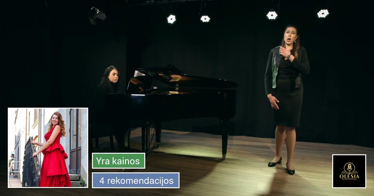 Solinio Dainavimo pamokos su Operos Solistė
