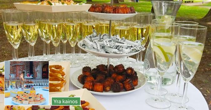 Vaišių/šampano staliukas Tavo šventei