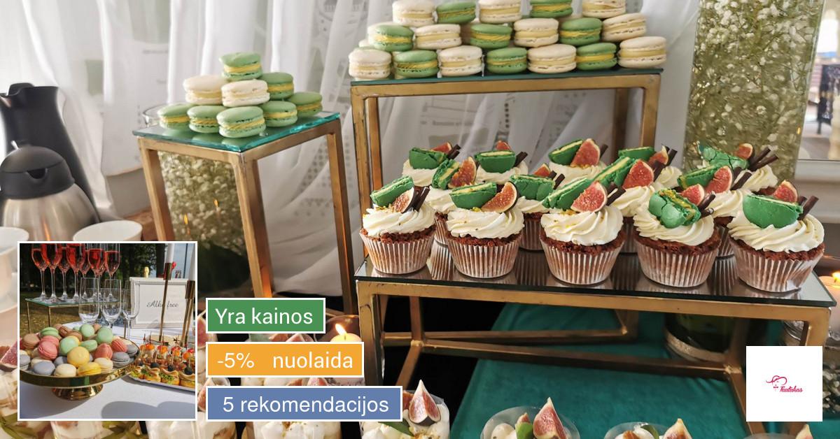 Šamapano staliukas Jūsų šventei
