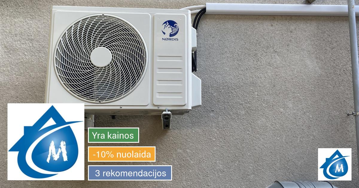 Visi santechnikos, vėdinimo, kondicionavimo sistemų darbai.