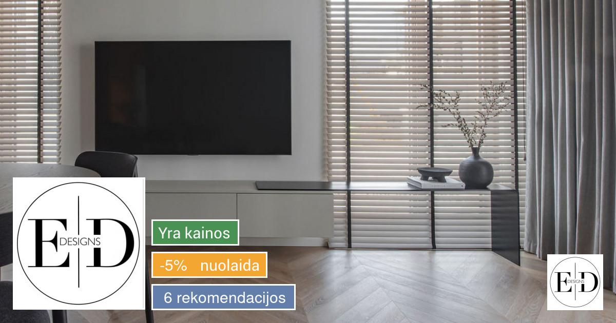 Interjero ir baldų dizaino paslaugos