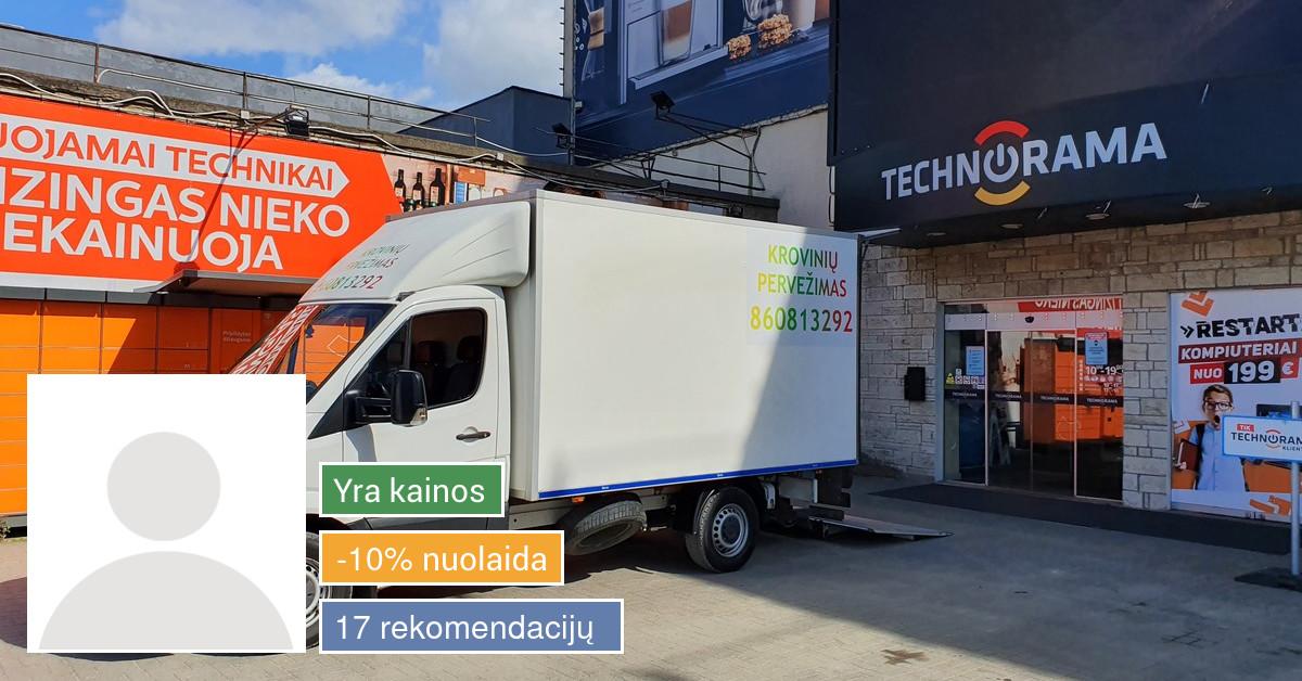 Krovinių pervežimas Klaipėdoje ir Lietuvoje