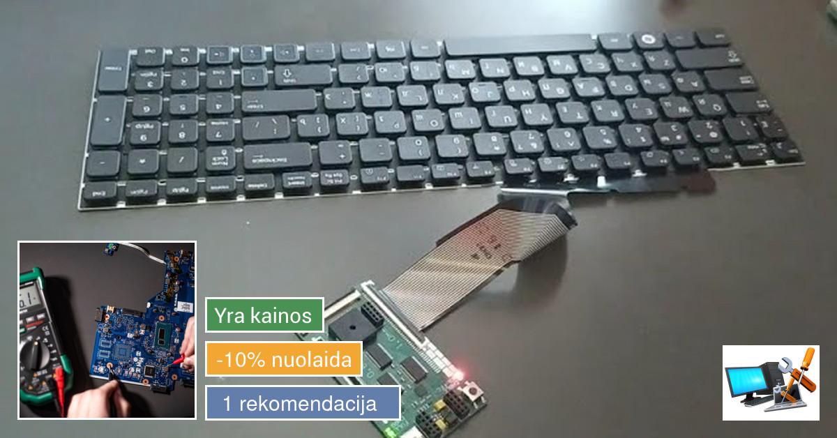 Įvairių kompiuterių gėdimų remontas