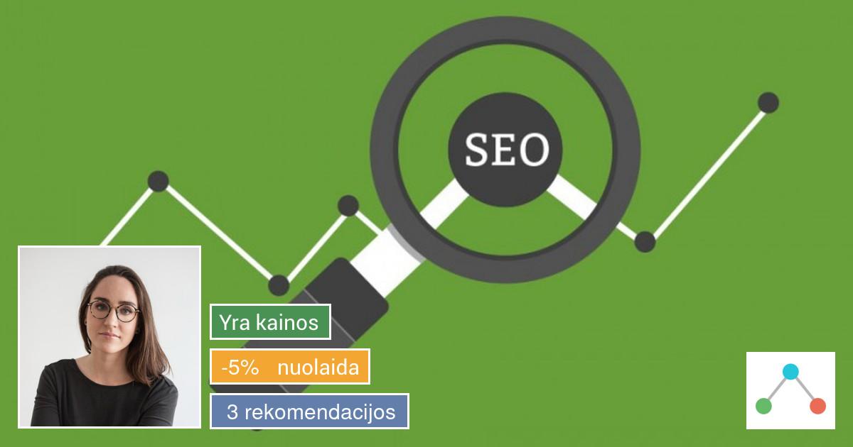 Seo analizė ir optimizavimas