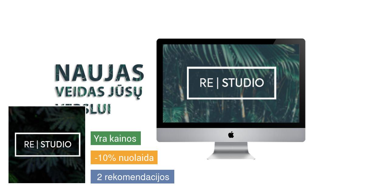 Internetinės svetainės ir jų dizainas