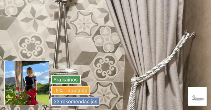 Vonios ir terasos užuolaidos