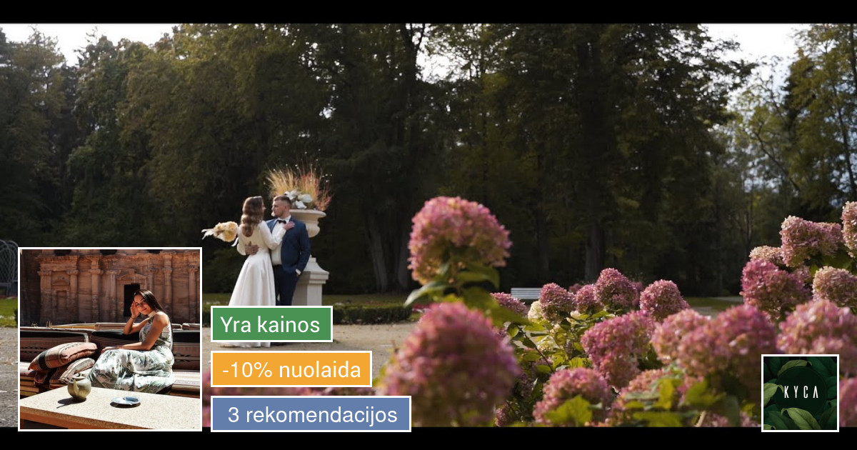 Fotografavimas ir filmavimo paslaugos visoje Lietuvoje Kyca