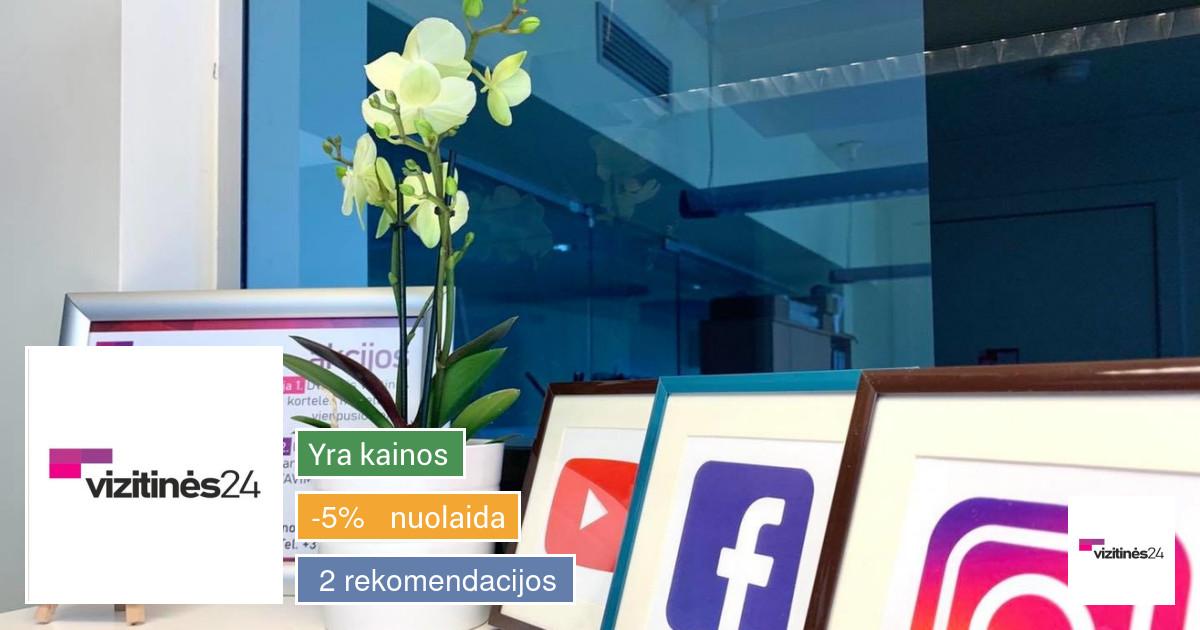Reklamos paslaugos: vizitinės, tinklapių, logotipų kūrimas