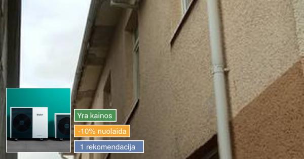 Kokybiškas kondicionieriu, rekuperatoriu ir oras vand. mont