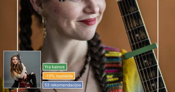 Viktorija Kajokaitė - akustinė muzika ir dainavimas.