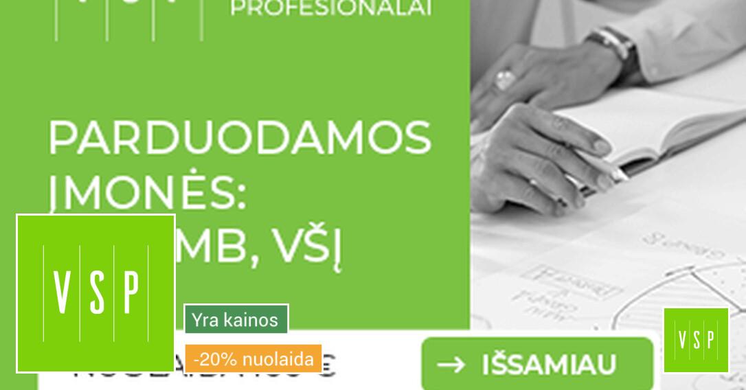 Buhalterinė apskaita viso tipo įmonėms: Uab, Mb, Všį, Iį