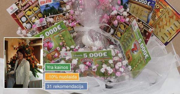 Floristė Alytuje - 8-611-12392 - Paskambink