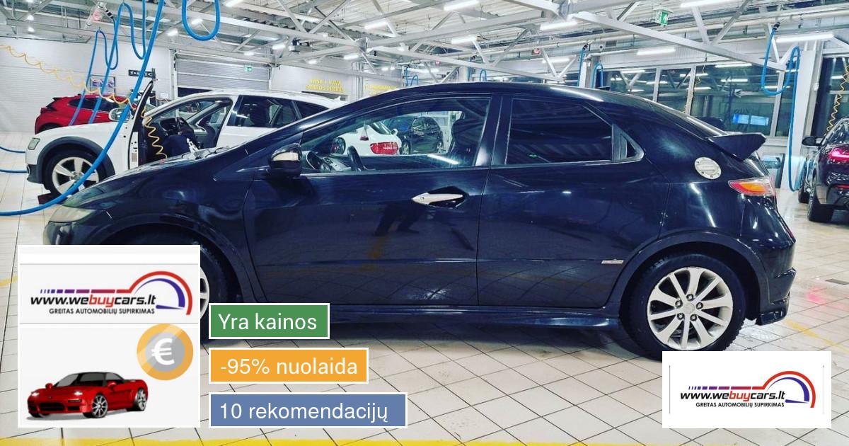 Brangiai ir greitai superkame automobilius Vilniuje