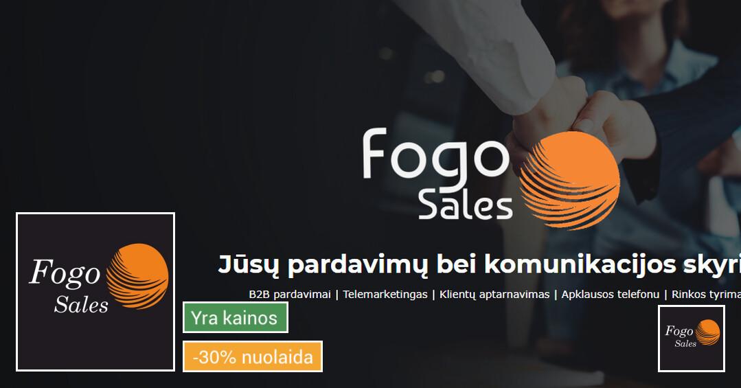 B2b pardavimų paslaugos ir klientų aptarnavimas