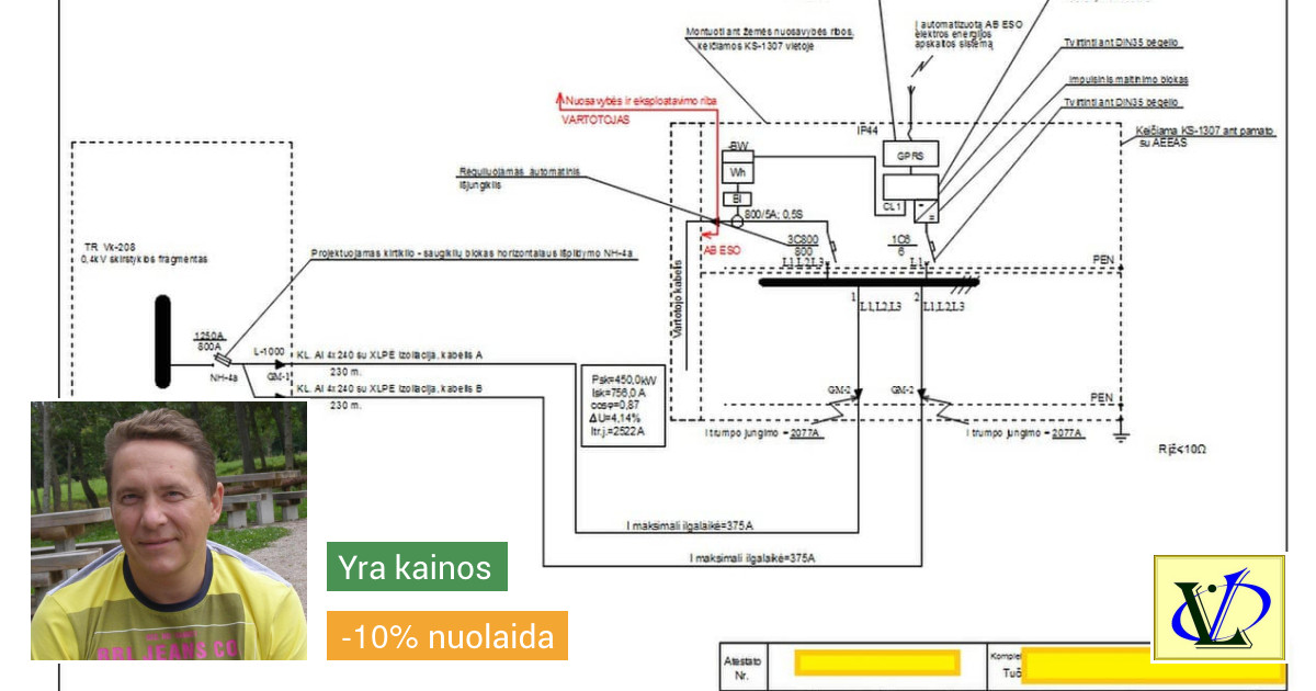 Elektros tinklų ir sistemų projektavimas. Saulės Elektrinės