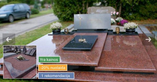 Kapų tvarkymas, granito plokštės, paminkl ir priežiūra Kaune