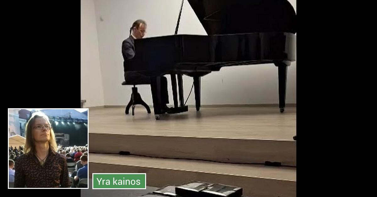 Pianino ir solfedžio klasė