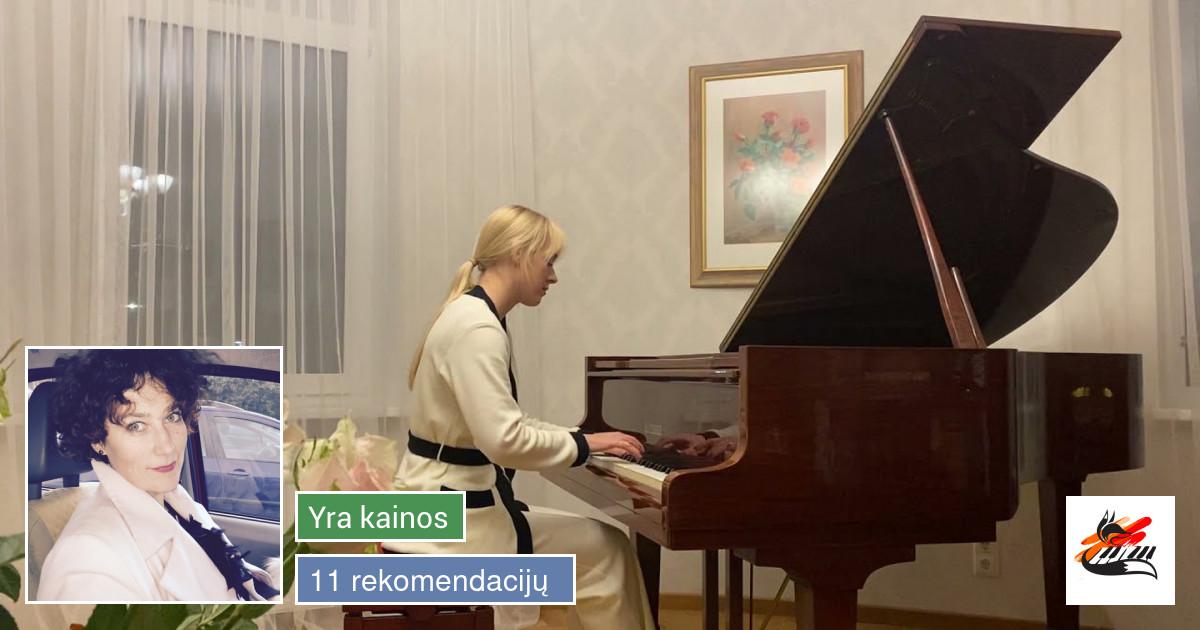 Fortepijono/pianino mokytoja