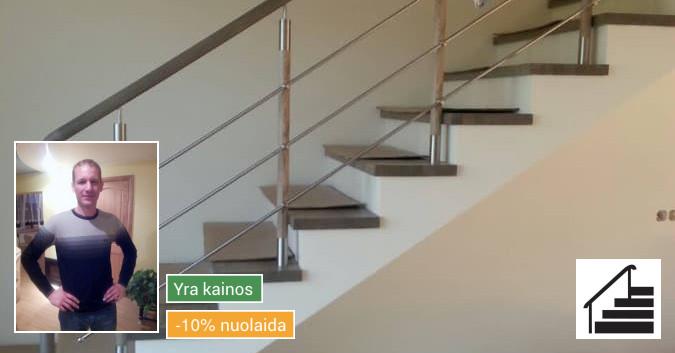 Laiptų gamyba, uosiniai ir ąžuoliniai laiptai, metalinė sija
