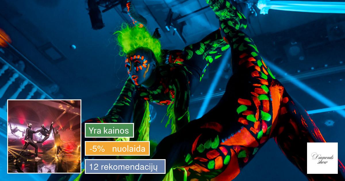 ! Diamonds Show - Šou pasirodymai