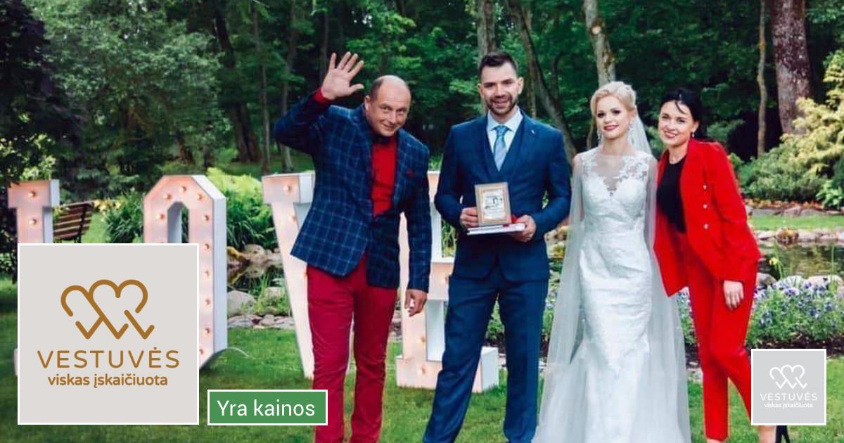 Vestuvės - viskas įskaičiuota
