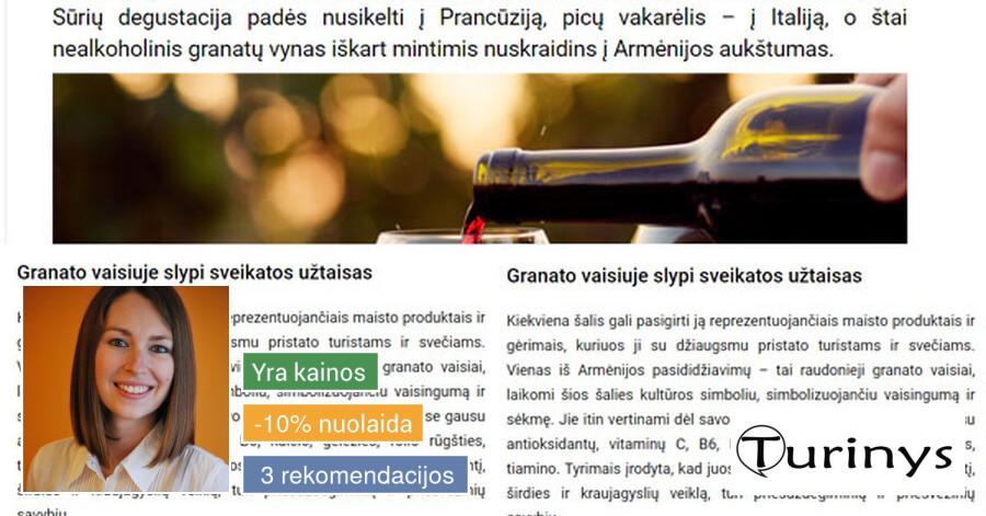 Straipsnių, tekstų svetainėms, reklamai rašymas
