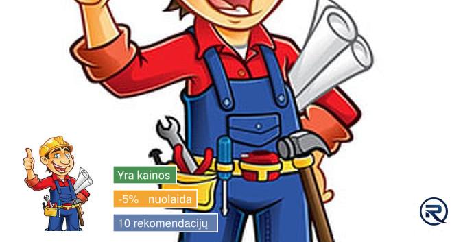 Meistras į namus. Namų ūkio ir buities darbai
