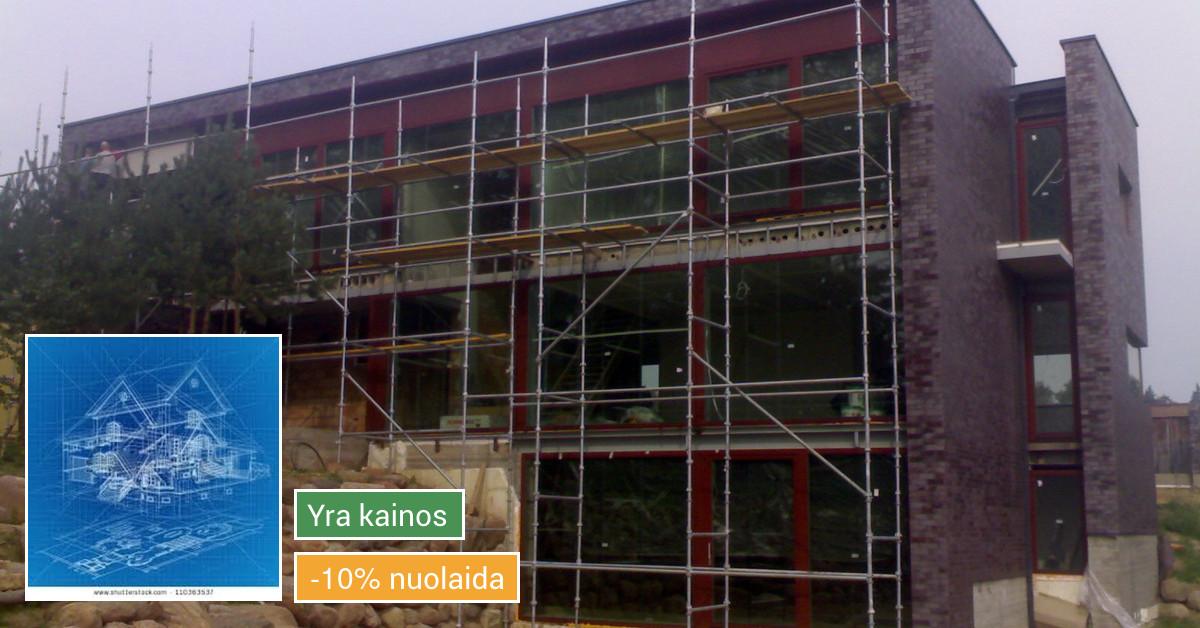 Įvairūs statybos ir remonto darbai