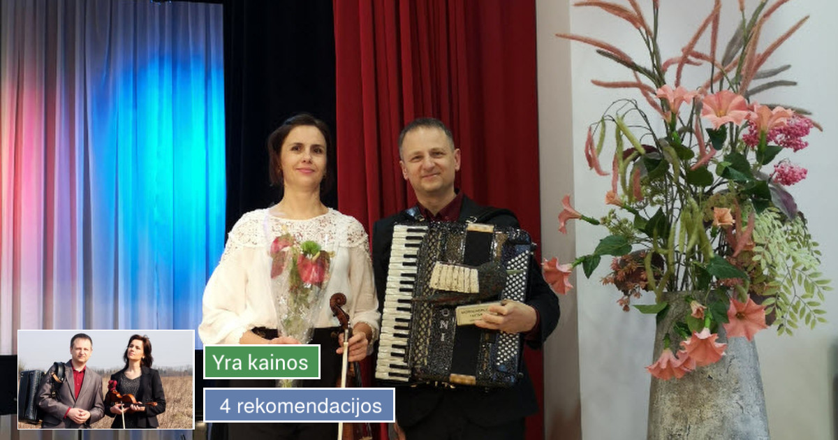 Muzikantai Vilniuje ir visoje Lietuvoje