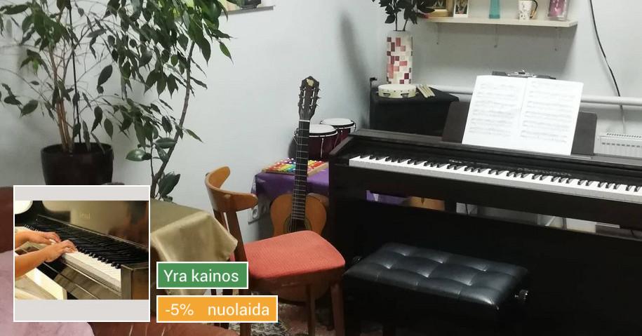 Pianino ir Solfedžio Pamokos Уроки Фортепиано