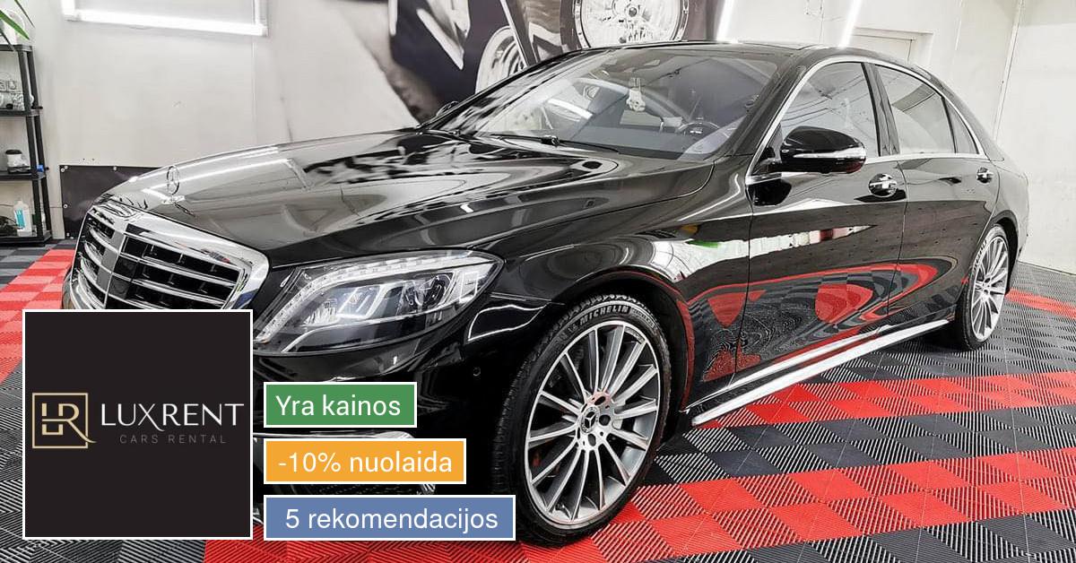Prabangių automobilių nuoma visoje Lietuvoje!