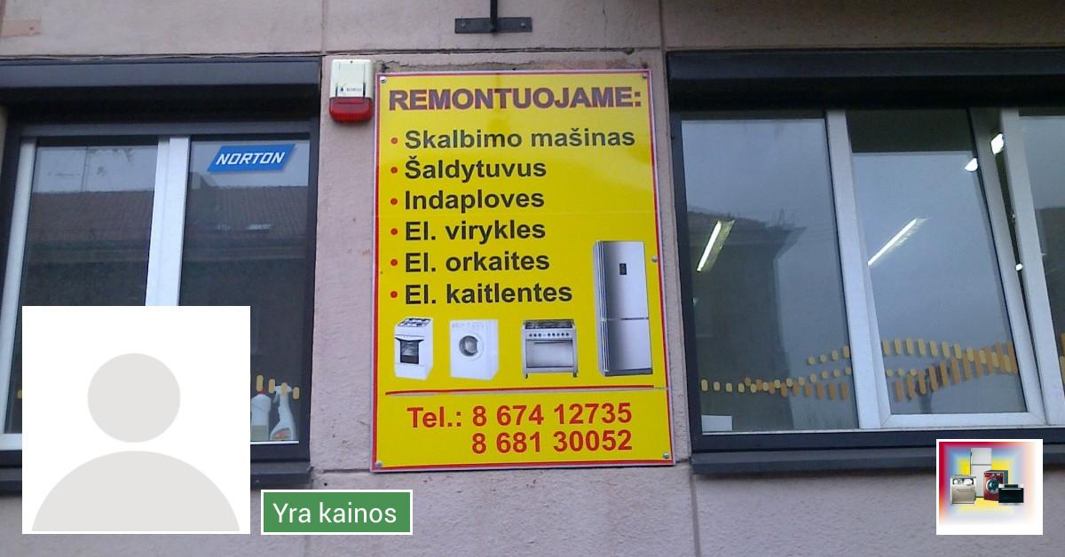 BUITINĖS TECHNIKOS REMONTAS