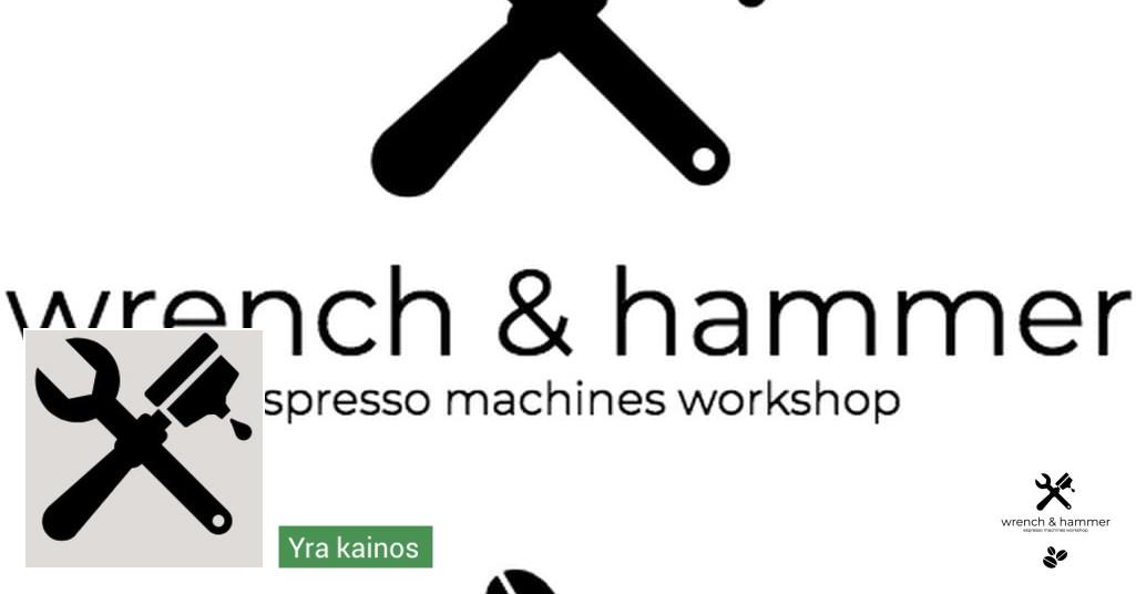 Wrench & Hammer Espresso machines workshop