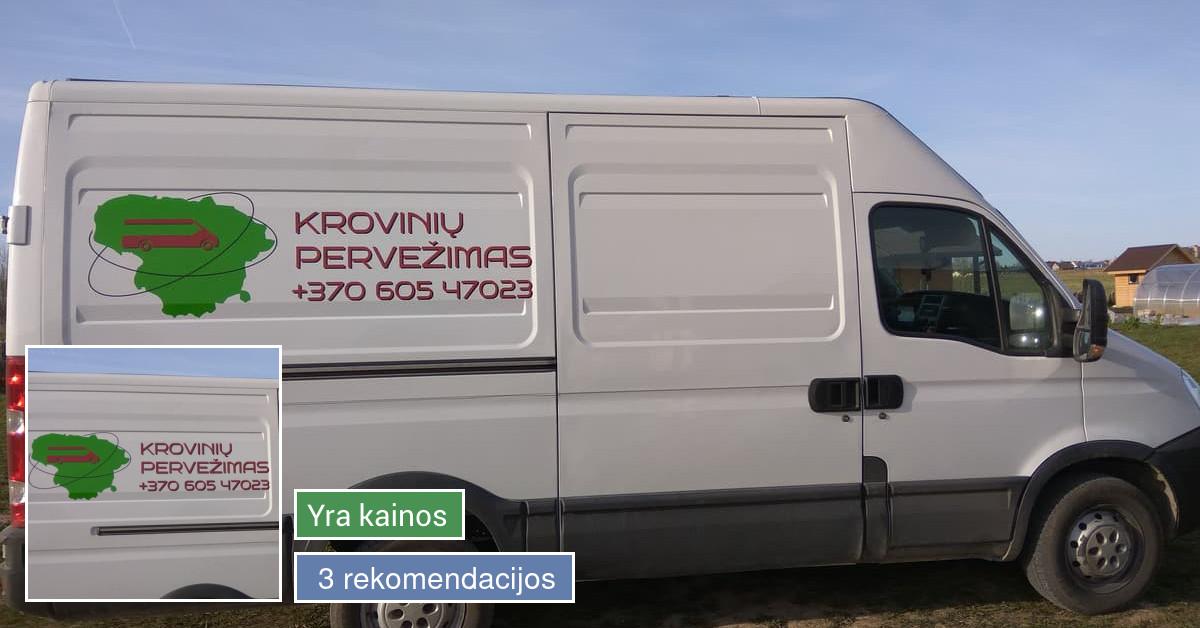Krovinių pervežimas visoje Lietuvoje ir ne tik.