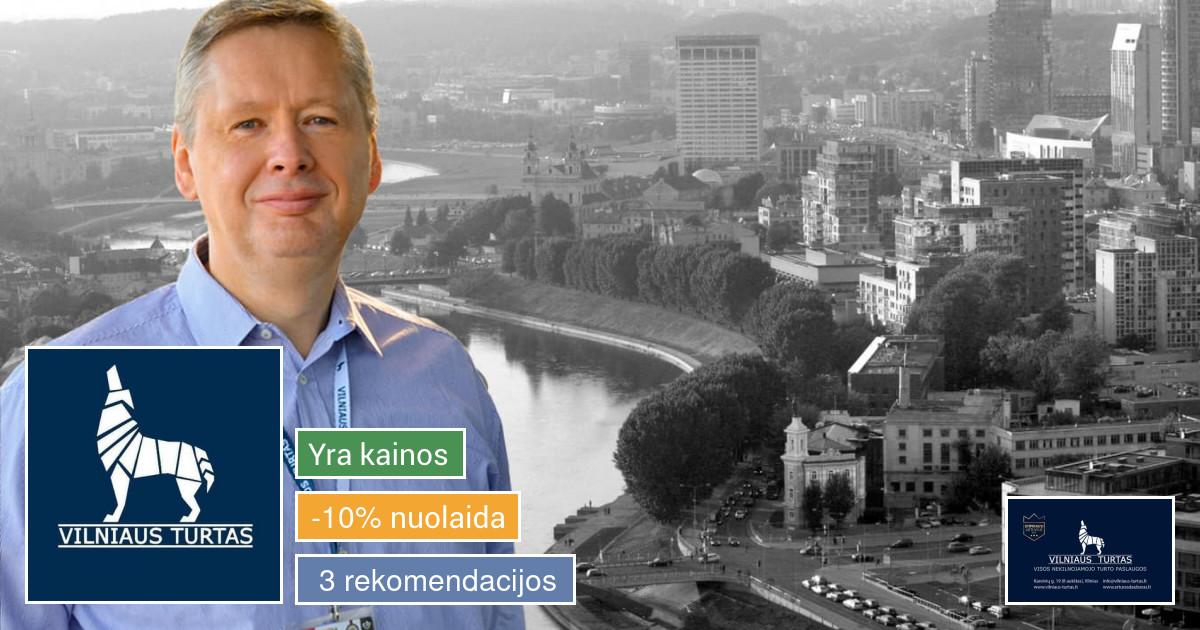 Sertifikuotas NT brokeris Vilniuje!