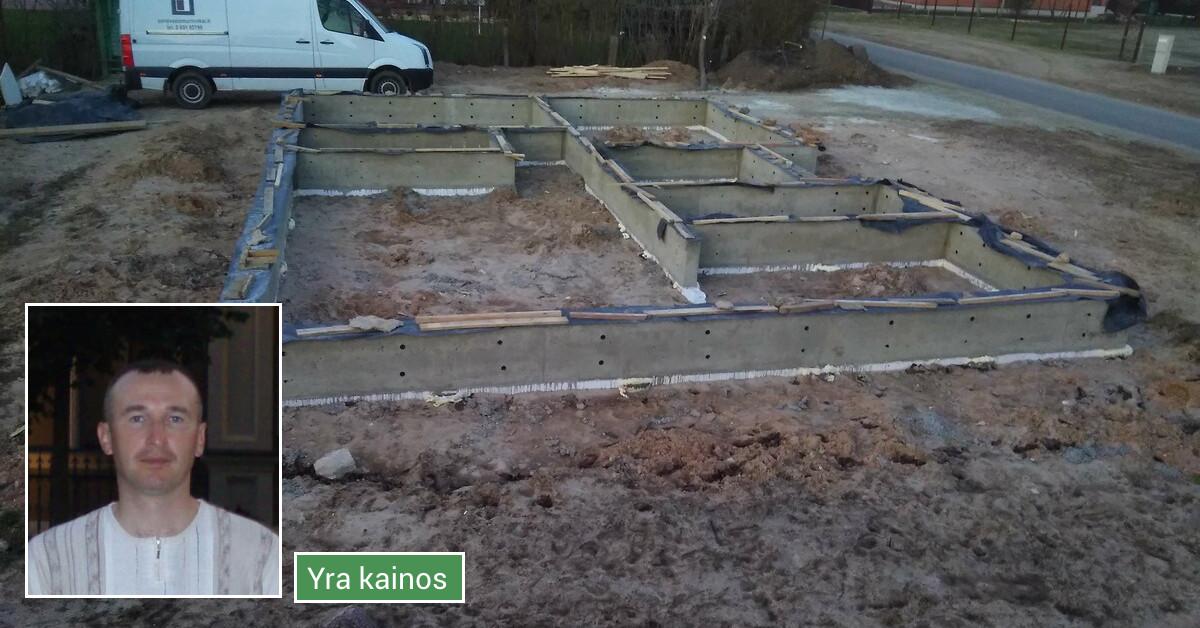 Statybos darbai Panevėžyje